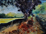 Pol Ledent - Summer path in Gendron