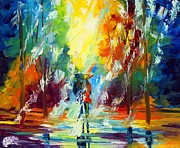 Amor Paintings - Summer Rain by Ash Hussein