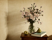 Floral Still Life Prints - Summer Repose Print by Amy Weiss