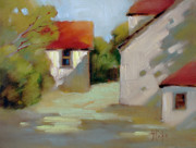 Joyce Art - Summer Shadows by Joyce Hicks