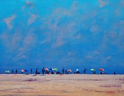 Original Oil Paintings - Summer Sky by Graham Gercken