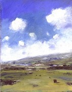 Alan Daysh - Summer sky over Brading...