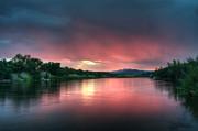 Tam Ryan - Summer Sunrise on the Salt River