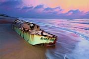 Dan Carmichael - Summer Sunrise Shipwreck on Outer Banks II