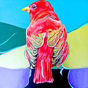 Tanager Originals - Summer Tanager by Jamie Downs