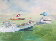 Oyster Originals - Summer Tonging by Susan Richardson