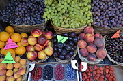 Abundance Posters - Summer variety of fruits in Italy Poster by Sami Sarkis