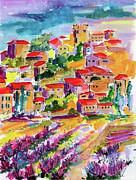Ginette Fine Art LLC Ginette Callaway - Summer Walk In Provence