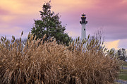 Mary Almond Art - Summersville Lake Lighthouse by Mary Almond