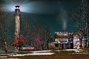 Mary Almond - Summersville Lake Lighthouse Mount Nebo WV