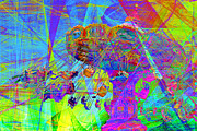 Wingsdomain Digital Art - Summertime At Santa Cruz Beach Boardwalk 5D23905 by Wingsdomain Art and Photography