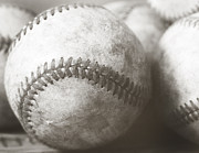 Baseballs Photos - Summertime by Elizabeth Whittington