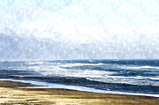 Ocean Art. Beach Decor Originals - Summertime Ocean by Amyn Nasser