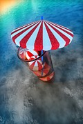 Umbrellas Digital Art - Summertime Refreshment by Liam Liberty
