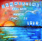 Robin Mead Posters - Summertime Poster by Robin Mead