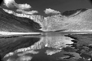 Mount Evans Framed Prints - Summit Lake Colorado Framed Print by David Bearden