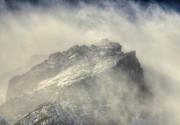 Blowing Snow Prints - Summit Winds in Rocky Mountain National Park Print by Ken Smith