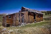 Old Town Digital Art Prints - Summitville - Colorado Ghost Town Print by Ellen Lacey