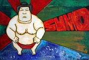 Sumo Framed Prints - Sumo Framed Print by Laura Barbosa