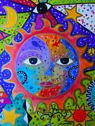 PRISTINE CARTERA TURKUS - SUN AND MOON TREE OF LIFE
