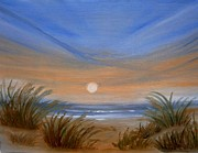 Sand Dunes Paintings - Sun and Sand by Holly Martinson