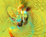 Vivacious Digital Art - Sun Dancer by Jeanne Liander