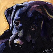 Labrador Retriever Puppy Prints - Sun Day Print by Molly Poole