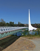 Ron Roberts Photography Prints - Sun Dial Bridge 2 Print by Ron Roberts