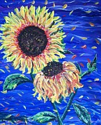 Jeanette Stewart - Sun Flowers and Wind
