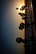 Clemente Metal Prints - sun going down in California smartphone Version Metal Print by Ralf Kaiser