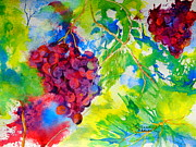 Vines Paintings - Sun-kissed by Elaine Frances Moriarty
