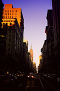 New York Newyork Photo Posters - Sun Kissed Empire Poster by Joann Vitali