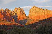 Wendi Evans Art - Sun Kissed Sedona by Wendi Evans