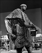 Sun Ra Arkestra Photos - Sun Ra 1968 by Lee  Santa