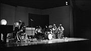 Uc Davis Photo Framed Prints - Sun Ra Arkestra at U C Davis Framed Print by Lee  Santa