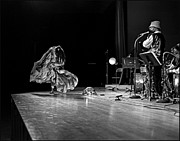 Uc Davis Photo Framed Prints - Sun Ra Dancer and Marshall Allen Framed Print by Lee  Santa