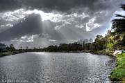 Isaac Silman - Sun rise over Yarkon river