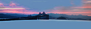 San Rafael Bridge Prints - Sun Rise San Pablo Bay Print by Stan Angel