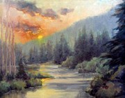 Sandy Farley - Sun River Sunset
