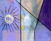 Modernism Mixed Media - Sun Song by Venus