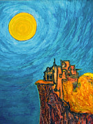 Old Age Paintings - Sun Temple of Forgiveness by Raul Morales