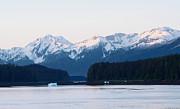 All - Sun Topped Mountain Sunrise Alaska  by Tom Wurl