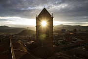 Bolivia Guide Prints - Sun Tower Of Potosi Print by For Ninety One Days