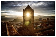 Bolivia Guide Prints - Sun Tower Of Potosi Framed Print by For Ninety One Days