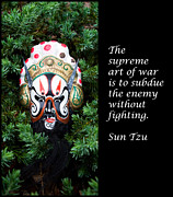 Sun Tzu Posters - Sun Tzus The Art of War Poster by William Patrick