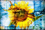 Coffe Digital Art - Sun Worshiper by Wendy Mogul