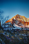 Sundance Prints - Sundance Aspen-First Light V3 Print by Douglas Barnard