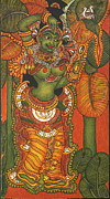 Complicated Paintings - Sundara Yakshi  Seductress of legends by Anu Edasseri