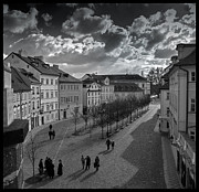 Prague Digital Art Prints - Sunday Afternoon Print by Alfredo Machado