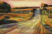 Scenic Drive Paintings - Sunday Drive by Sheila Diemert